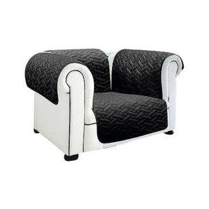 Ochranný přehoz na sedačku  - Elastické potahy z kolekce euronova