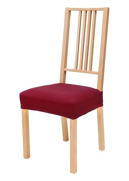 Napínací potah na židli Pruhy  - Elastické potahy z kolekce euronova